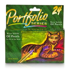 WATER SOLUBLE OIL PASTELS 24 CT PORTFOLIO SERIES