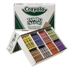 CRAYOLA CRAYONS SO BIG CLASS PACK 200CT