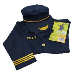 DRAMATIC DRESS UPS COMMUNITY HELPER COSTUMES AIRLINE PILOT