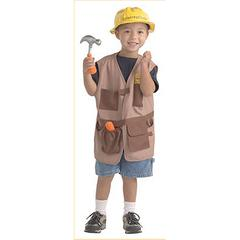BRAND NEW WORLD DRAMATIC DRESS UPS COMMUNITY HELPER COSTUME CONSTRUCTION WORKER