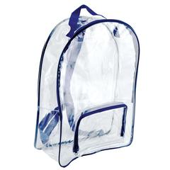 BAGS OF BAGS CLEAR BACKPACK