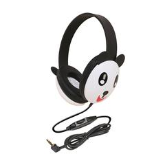 LISTENING FIRST ANIMAL-THEMED STEREO HEADPHONES PANDA