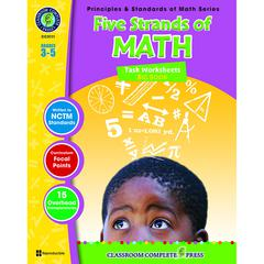 FIVE STRANDS OF MATH BIG BOOK GR 3-5 PRINCIPLES & STANDARDS OF MATH