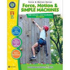 FORCE MOTION & SIMPLE MACHINES BIG BOOK