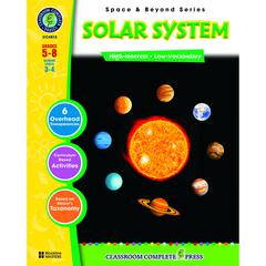 CLASSROOM COMPLETE PRESS SPACE & BEYOND SERIES SOLAR SYSTEM GR 5-8