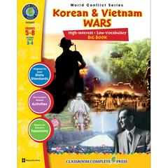 CLASSROOM COMPLETE PRESS KOREAN & VIETNAM WARS BIG BOOK WORLD CONFLICT SERIES