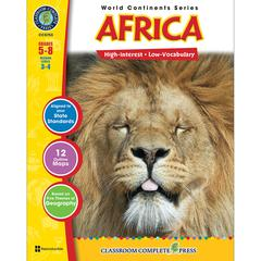 CLASSROOM COMPLETE PRESS WORLD CONTINENTS SERIES AFRICA