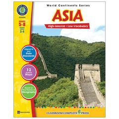 CLASSROOM COMPLETE PRESS WORLD CONTINENTS SERIES ASIA