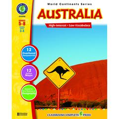 CLASSROOM COMPLETE PRESS WORLD CONTINENTS SERIES AUSTRALIA
