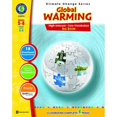 CLASSROOM COMPLETE PRESS GLOBAL WARMING BIG BOOK