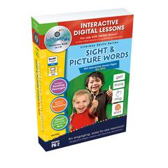 SIGHT & PICTURE WORDS BIG BOX INTERACTIVE WHITEBOARD LESSONS