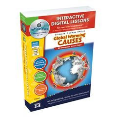 GLOBAL WARMING CAUSES INTERACTIVE WHITEBOARD LESSONS