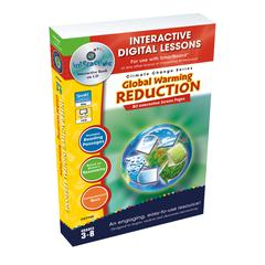 CLASSROOM COMPLETE PRESS GLOBAL WARMING REDUCTION INTERACTIVE WHITEBOARD LESSONS