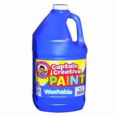 BLUE GALLON WASHABLE PAINT CAPTAIN CREATIVE