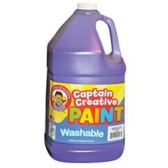 VIOLET GALLON WASHABLE PAINT BY CAPTAIN CREATIVE