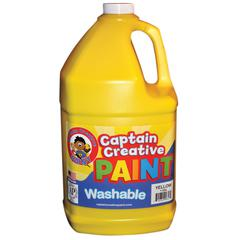 YELLOW GALLON WASHABLE PAINT BY CAPTAIN CREATIVE
