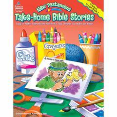 CARSON DELLOSA TAKE-HOME BIBLE STORIES NEW TESTAMENT GR PK-2