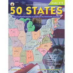 CARSON DELLOSA 50 STATES 176 PAGES GR 3-5