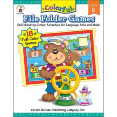 COLORFUL FILE FOLDER GAMES GR K