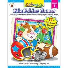 CARSON DELLOSA COLORFUL FILE FOLDER GAMES GR 1