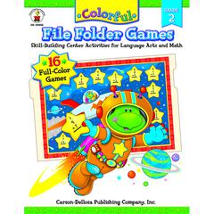 CARSON DELLOSA COLORFUL FILE FOLDER GAMES GR 2