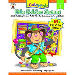 CARSON DELLOSA COLORFUL FILE FOLDER GAMES GR 3