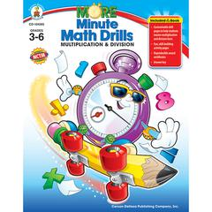 MINUTE MATH DRILLS MULTIPLICATION DIVISION