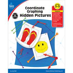 CARSON DELLOSA COORDINATE GRAPHING HIDDEN PICTURES GR 3-5