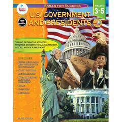 CARSON DELLOSA US GOVERNMENT AND PRESIDENTS GR 3-5