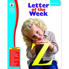 CARSON DELLOSA EARLY YEARS LETTER OF THE WEEK