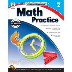 CARSON DELLOSA MATH PRACTICE BOOK GR 2