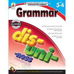 CARSON DELLOSA GRAMMAR BOOK GR 3-4