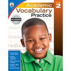 CARSON DELLOSA ACADEMIC VOCABULARY PRACTICE GR 2