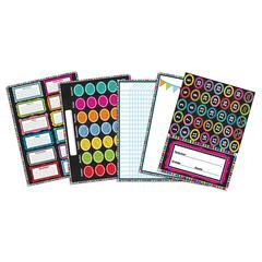 CARSON DELLOSA COLORFUL CHALKBOARD BB SET