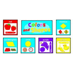 COLORS AND SHAPES QUICK STICK BB SET GR PK-2