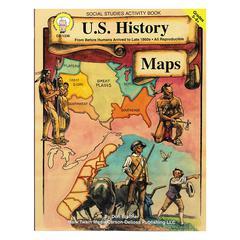 CARSON DELLOSA US HISTORY MAPS GR 5-8