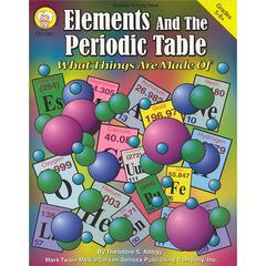 CARSON DELLOSA ELEMENTS & THE PERIODIC TABLE GR 5-8& UP