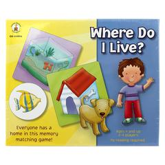 CARSON DELLOSA WHERE DO I LIVE EARLY CHILDHOOD GAME