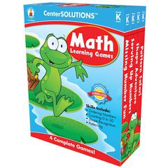 MATH LEARNING GAMES GR K CENTERSOLUTIONS