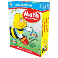 MATH LEARNING GAMES GR 2 CENTERSOLUTIONS