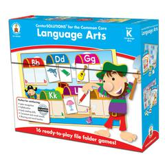 CARSON DELLOSA LANGUAGE ARTS GAME GR K