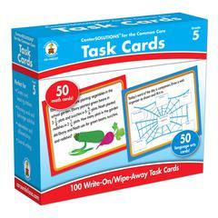 CENTER SOLUTIONS TASK CARDS GR 5