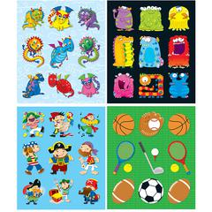 Boys Prize Pack Stickers Set