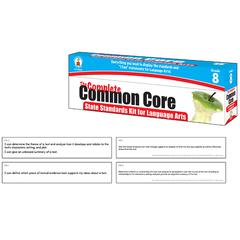 CARSON DELLOSA LANGUAGE ARTS GR 8 COMMON CORE KIT STATE STANDARDS