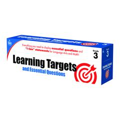 GR 3 LEARNING TARGETS & ESSENTIAL QUESTIONS