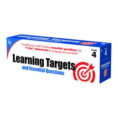 GR 4 LEARNING TARGETS & ESSENTIAL QUESTIONS