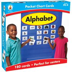 ALPHABET POCKET CHARTS GR PK-K