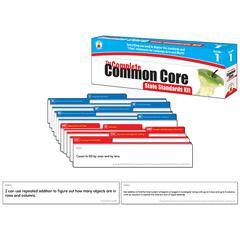 CARSON DELLOSA GR 1 THE COMPLETE COMMON CORE STATE STANDARDS KIT