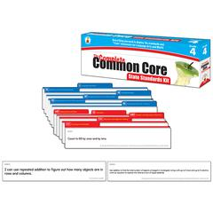 CARSON DELLOSA GR 4 THE COMPLETE COMMON CORE STATE STANDARDS KIT