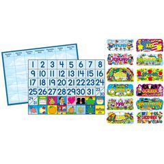 CARSON DELLOSA BB SET YEAR ROUND CALENDAR & ACCESSORIES
